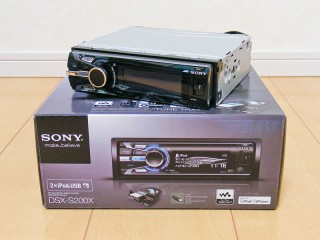 DSX-S200Xフロントフェイス