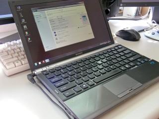 VGN-Z90 SSD化に伴うインデックス