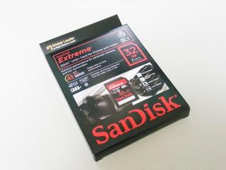 SanDisk Extreme UHS-1 パッケージ