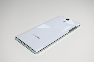 BLUBOO Xtouch 背面