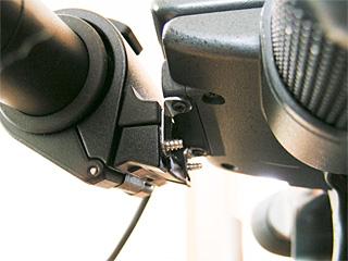 HDR-FX1マイクホルダ加工