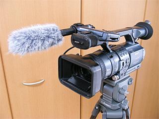 HDR-FX1+ショットガンマイク