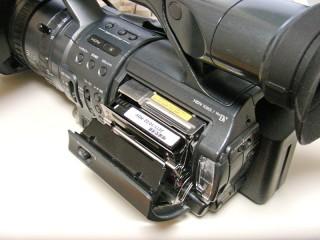 HDR-FX1 テープ走行エラー