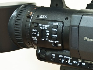 Panasonic AG-HMC155 ボタン配置