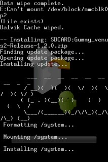 CWM Custom ROM Install