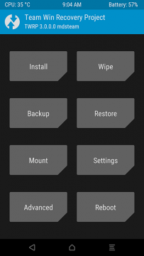 TWRP3.0 Xtouch 起動